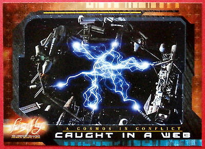 Joss Whedon's FIREFLY - Card #63 - Caught in a Web - Inkworks 2006