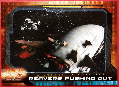 Joss Whedon's FIREFLY - Card #60 - Reavers Pushing Out - Inkworks 2006
