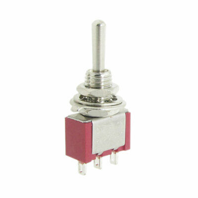 4 Pcs 2A/250VAC 5A/120VAC SPDT On/Off/On 3 Way 3 Pins Momentary Toggle Switch