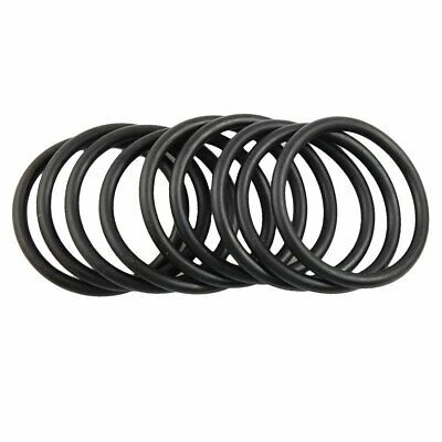 10 Pcs 40mm x 48mm x 4mm Nitrile Rubber Sealing O Ring Gasket Washer