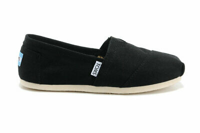 Authentic Toms Womens Classic Canvas Black Free Ship