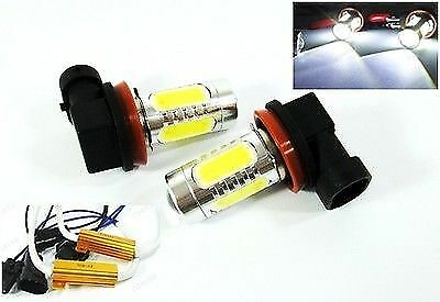 H1 CREE Q5 LED Projector Plasma Xenon 6000K White 2x Light Bulbs #Gd1 Low Beam