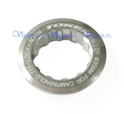 Kcnc Road Cycling Bike Cassette Lockring 11t Lock Ring For Campagnolo Campy Red Bicycle Components & Parts