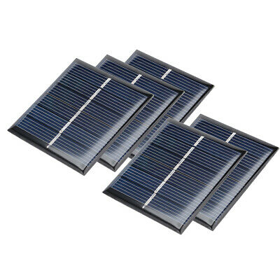 5Pcs 3V 110mA Poly Mini Solar Panel Module DIY for Phone Toys Charger 60mmx55mm