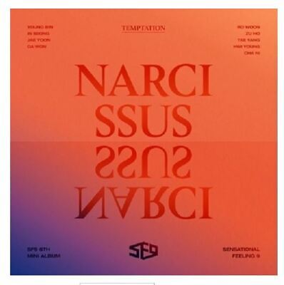 NARCISSUS by SF9 The 6th Mini Album [Temptation Ver.]