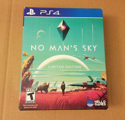 No Man's Sky: Limited Edition (Sony PlayStation 4, 2016) Sealed BRAND NEW!