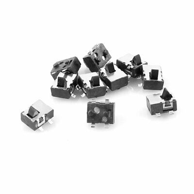 10 Pcs 4 Pin SPST Momentary Push Button Mini SMD SMT Tactile Tact Switch