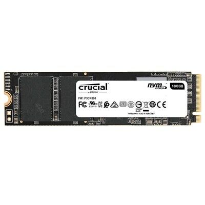 Crucial P1 SSD 500GB NVMe PCIe Gen 3 M.2 Internal Solid State Drive CT500P1SSD8