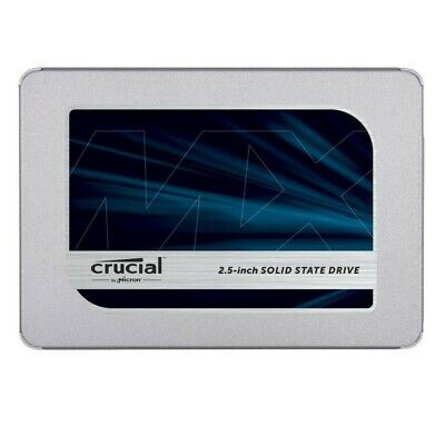 "Crucial MX500 SSD 500GB SATA III 2.5"" Internal Solid State Drive CT500MX500SSD1"