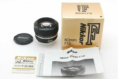 Nikon Ai-S Nikkor 50mm f/1.2, Prime Lens, Excellent Condition, From JAPAN,TK0805