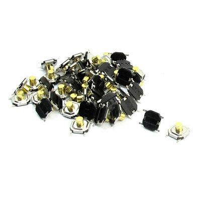 50Pcs 5x5x3mm 4Pin Momentary Push Button PCB SMD SMT Tact Switches