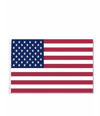 2 X 3'x5' ft American Flag USA US Embroidered Stars Sewn Stripes Brass Grommets