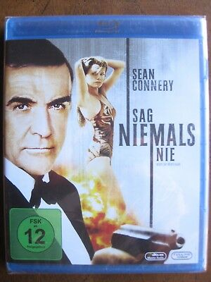 NEVER SAY NEVER AGAIN (1983) (Region-Free German Blu-Ray) SEAN CONNERY - NEW!!!