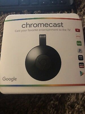 Google Chromecast NC2-6A5 (2nd Generation) HD Media Streamer - Black