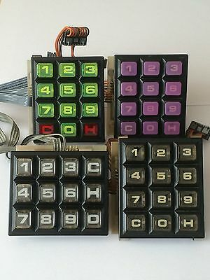 NSM CD Jukebox Keypad Reconditioning Service