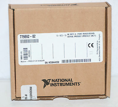 *NEW* National Instruments NI 9871 Serial Interface Module