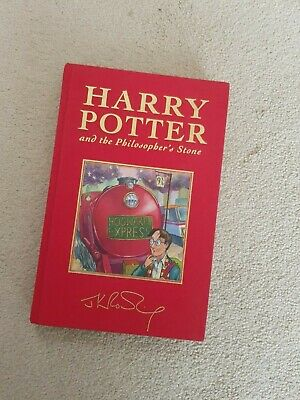 Harry Potter and the Philosophers Stone Hardback Gilt Deluxe edition