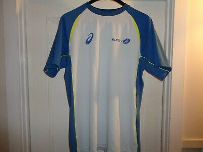 Official ASICS Australian WomenRugby short sleeve top size M (womens) preowned