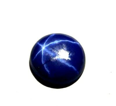 GGL Certified 1.80 Ct Natural Six Rays Star Blue Sapphire Loose Gem Best Offer
