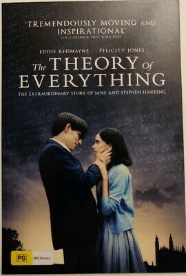 The Theory of Everything – Promotional Postcard – Stephen Hawking - 2015.