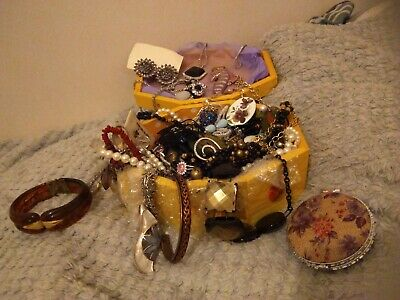 Job Lot Costume Jewellery From House Clearance including sterling silver 925