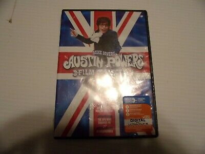 NEW--Austin Powers 3-Film Collection (DVD, 3 DISC)