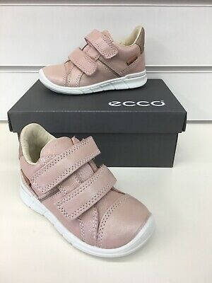 Ecco First Infant Girls Sneaker In Rose Dust Leather New Season Collection