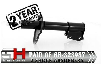 2 New Front Oil Shock Absorbers For Renault Clio 1990-98 54Mm/Gh-323987K/