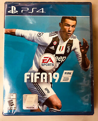 FIFA 19 PS4 for Sony PlayStation 4 PS4 2018 2019 Soccer game NEW FACTORY SEALED