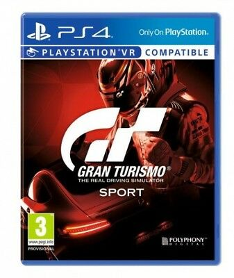 GRAN TURISMO SPORT PS4 comme neuf