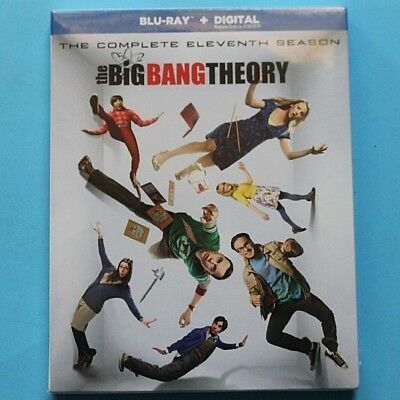 The Big Bang Theory: The Complete Eleventh Season (Blu-ray Disc, 2018) NEW