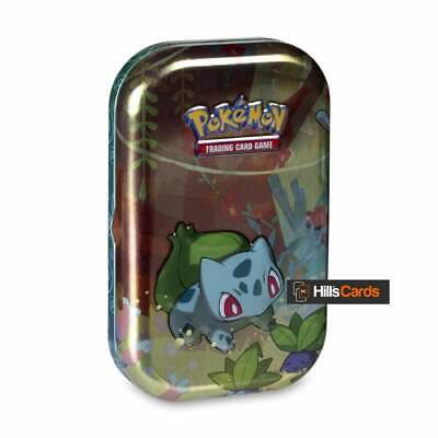 Pokemon Kanto Friends Mini Tin - Bulbasaur - Trading Card Game Collectors Case