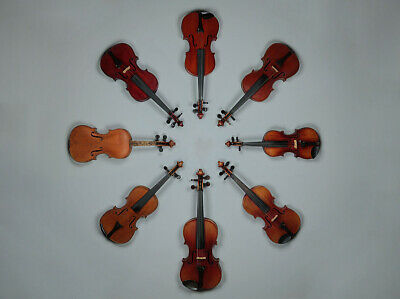 Antique Collection of Violins.