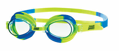 Zoggs Childrens Little Swirl Swimming Goggles Blue/Green for up to 6 Years Old