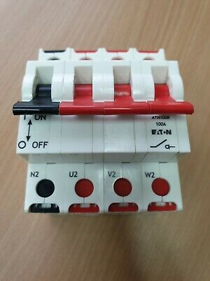 3 Phase + Neutral 100A Main Switch for DIN rail Isolator Three Phase 240/415Volt