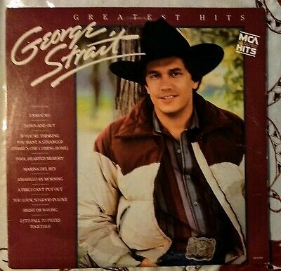 "George Strait - ""Greatest Hits"" with Merle Haggard label on Side 2. MISPRINT."
