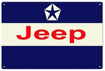 Jeep Service Sign Reproduction Motor Oil And Gas Station