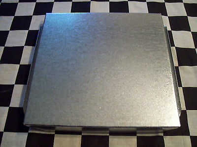 6 New - 12 X 12 Inch Hvac Duct End Cap Galvanized Sheet Metal Building Supply