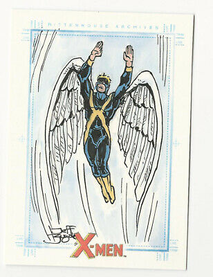 2009 X-Men Archives Marvel Hand Drawn Sketch Card by Jeff Zugale 1/1