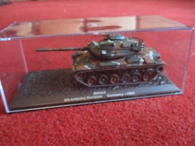 Deagostini 1:72 M60A3 5th Infantry Division Germany 1985 diecast tank