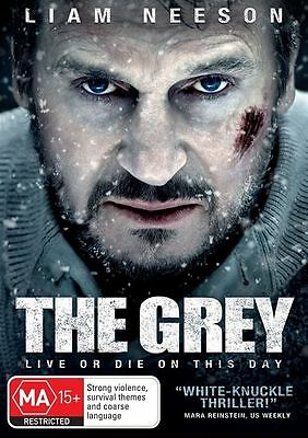 Grey The (DVD, 2012) // Ex-Rental // No Cover // Disc & Case only