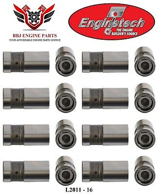 """lifters flat tappet hydraulic 16 9.59/"""" Ford Mercury 352 390 push rods"""