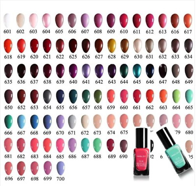 INGLOT O2M Breathable Nail Enamel/ Nail Polish  All colours  *Sold also in sets!