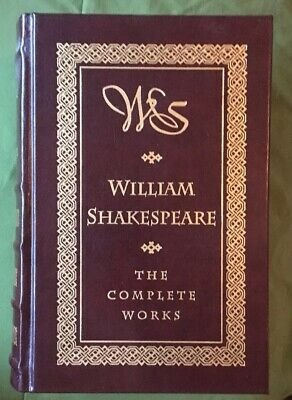 William Shakespeare: The Complete Works. Leather Bound. 1994.
