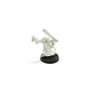 ASTRA MILITARUM preacher with chainsword #1 METAL Warhammer 40K Imperial guard