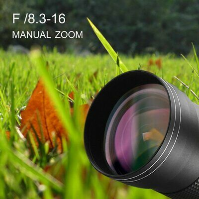 420-800mm f/8.3-16 Telephoto Lens for Nikon DSLR D7200 D5300 D5200 D3300 D3200☟✌