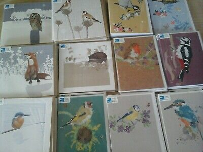 50 Rspb Mix Cards, Wholesale Joblot Greeting Cards, And