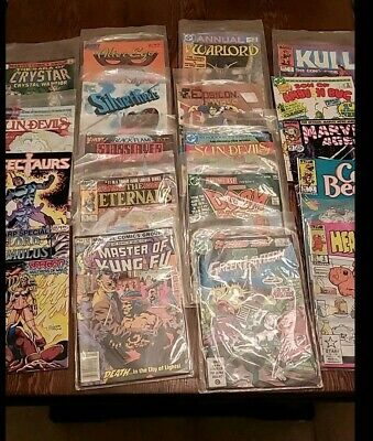vintage comic book lot marvel dc and more