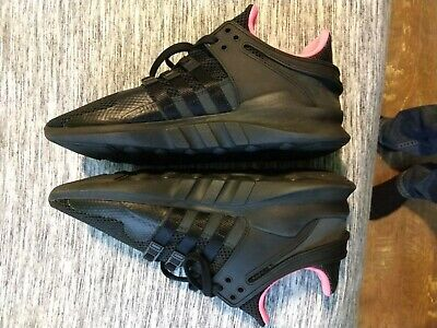 huge selection of 6299f c2865 ADIDAS EQT SUPPORT ADV Running Shoes Men's Size 10 Black Pink bb1300