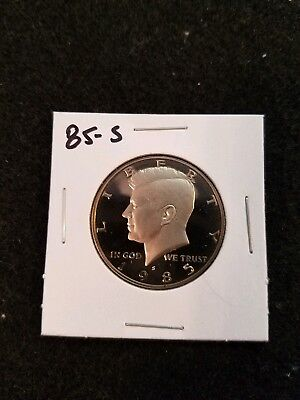 1985-S Us Proof Kennedy Half Dollar From Us Proof Set